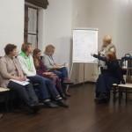 На конференции в Минске, 2018 г.