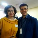 На конференции по проблемам зависимостей с Catalin Zaharia